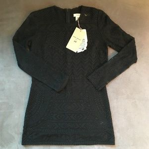 ISABEL MARANT Pour H&M Black Embroidered Lace Top